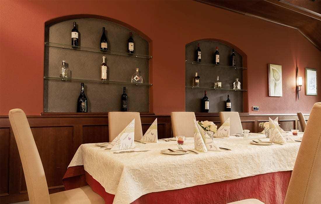 Restaurant bei Erding im Landhotel Hallnberg