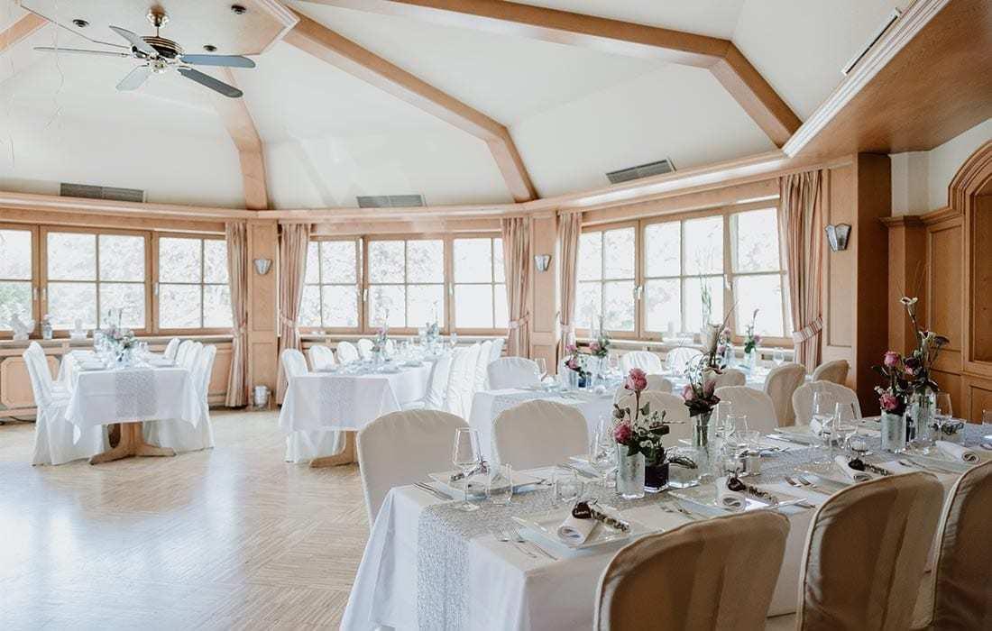 Hochzeitssaal Landhotel Hallnberg