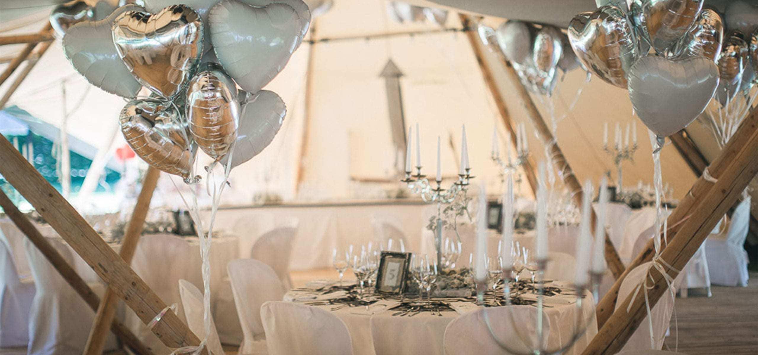 hochzeit landhotel hallnberg tipi zelt - feiern im zelt