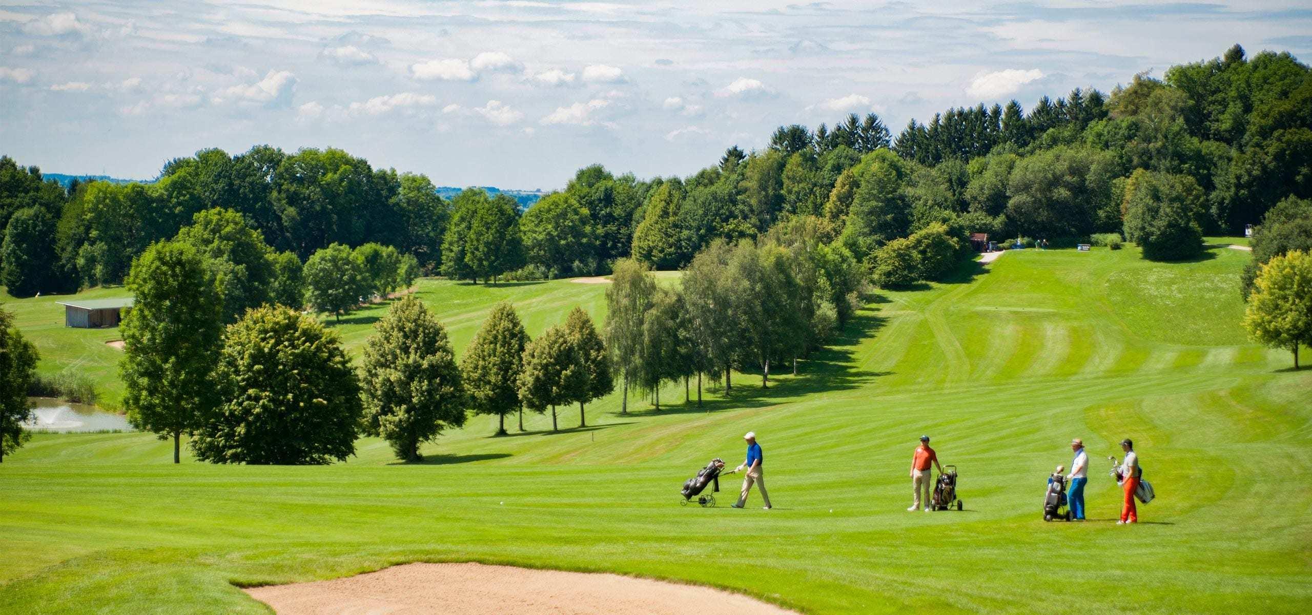 Golfclub Erding Grünbach Bahn 1