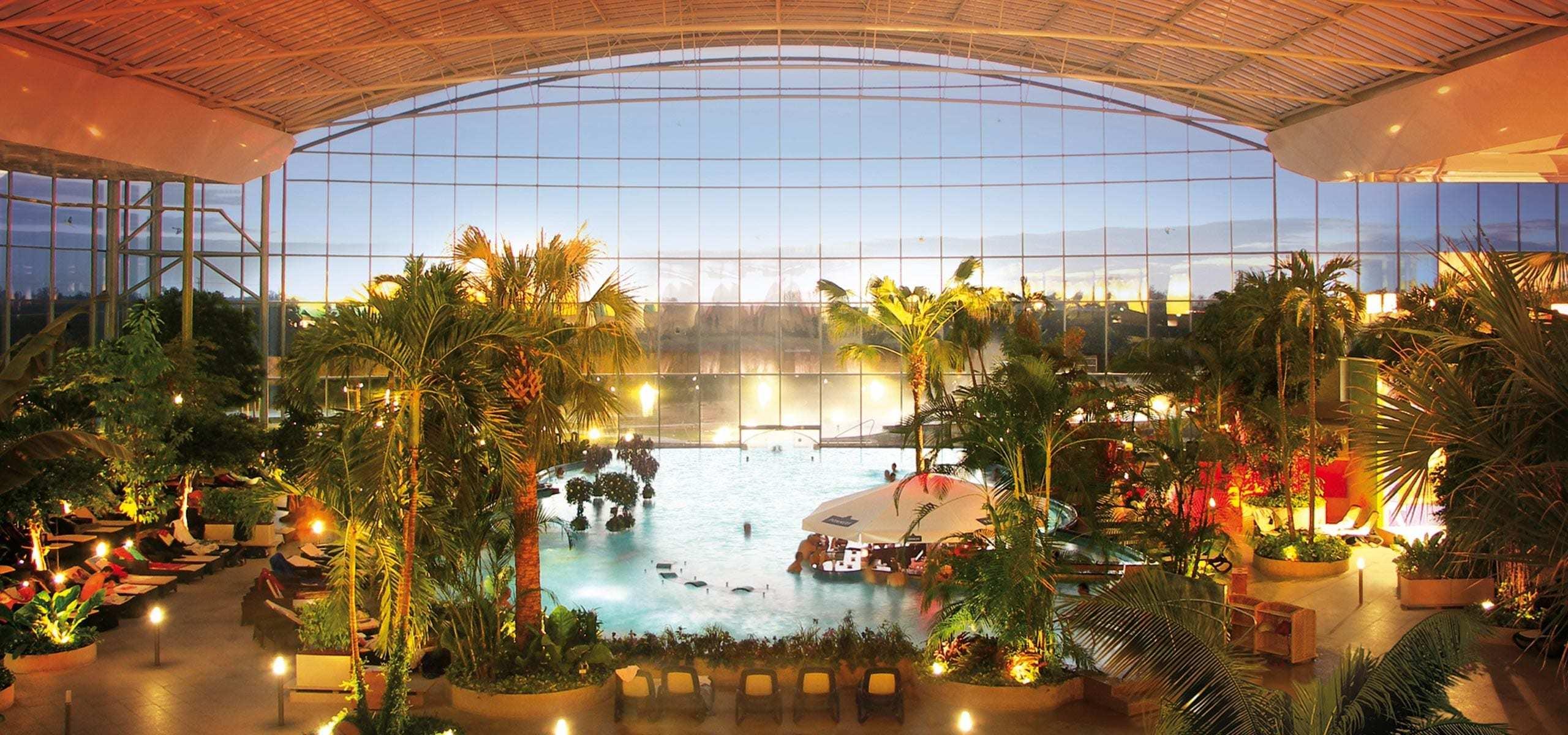 Saunaparadies - Hotel THERME ERDING mit Übernachtung