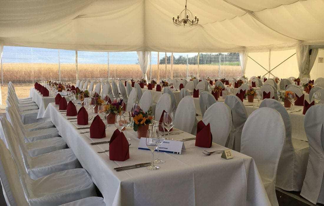 catering service hallnberg - feiern im zelt