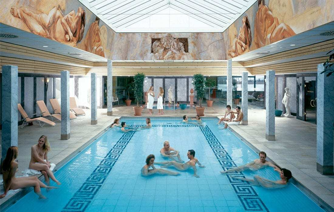 spa THERME Erding römisches Bad - Landhotel Hallnberg