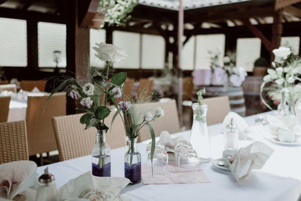Terrasse Landhotel Hallnberg Hochzeit