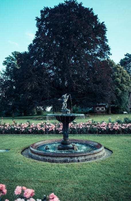 Brunnen im Schlosspark