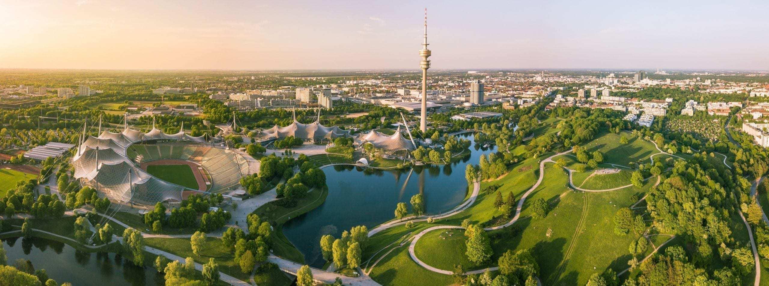 olypiapart in münchen historisches sightseeing