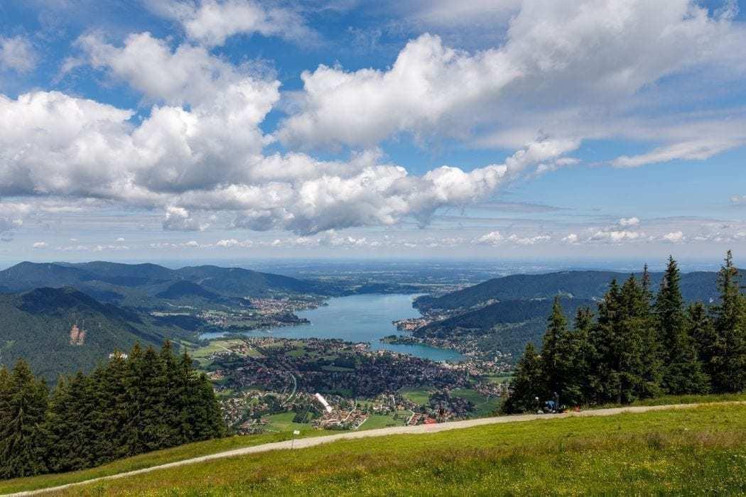 tergernsee sightseeing oberbayern blick auf den see