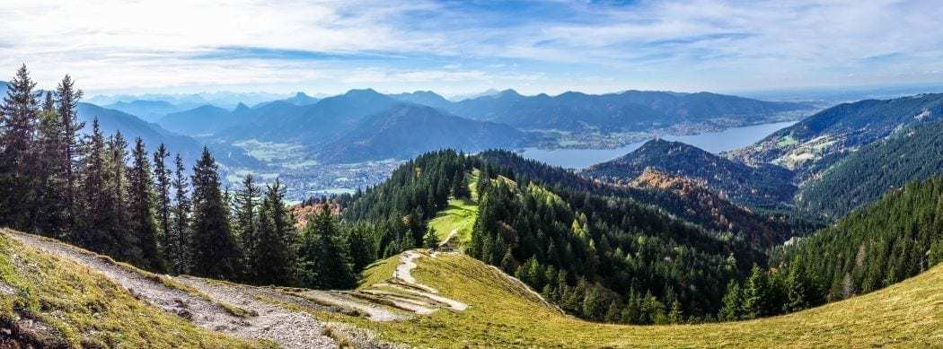 tegernsee wanderweg sightseeing in oberbayern