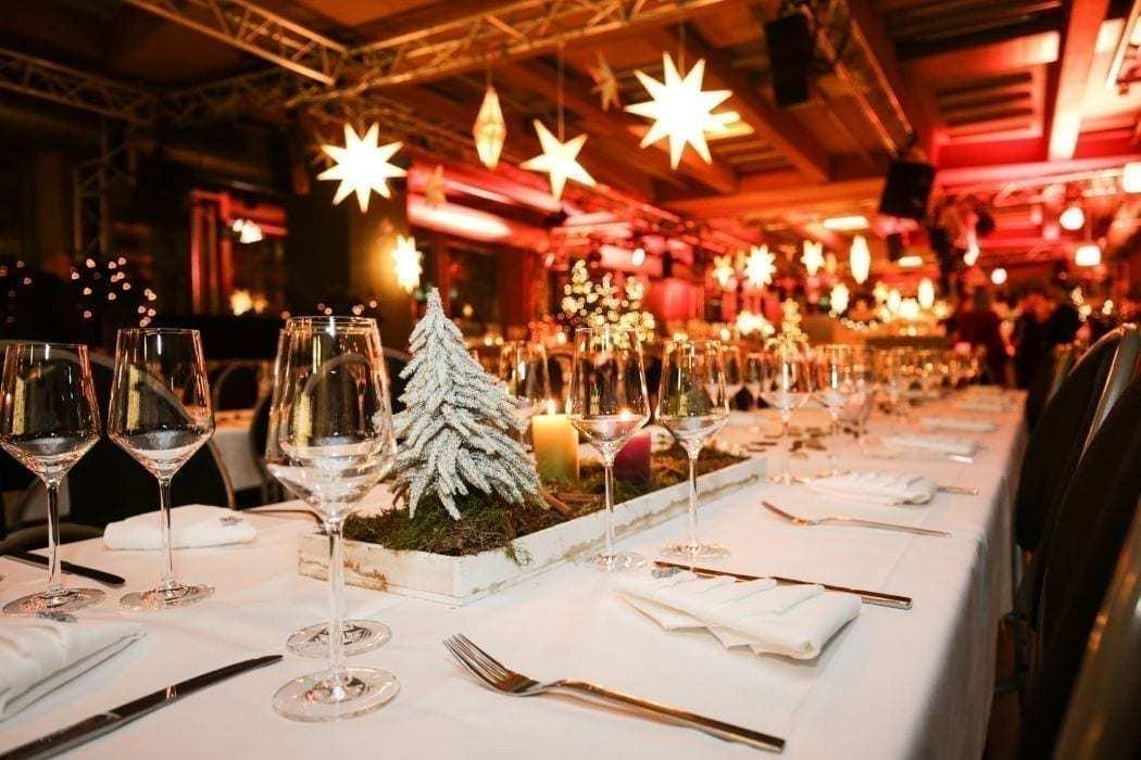 Weihnachtsfeier Catering Landhotel Hallnberg