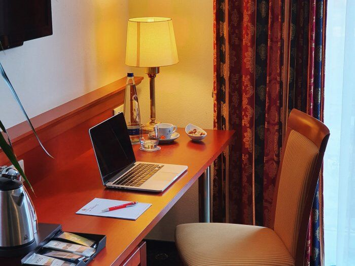 hotel office im landhotel hallnberg home office
